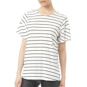"Shilla ""the movers"" striped Top NWT"